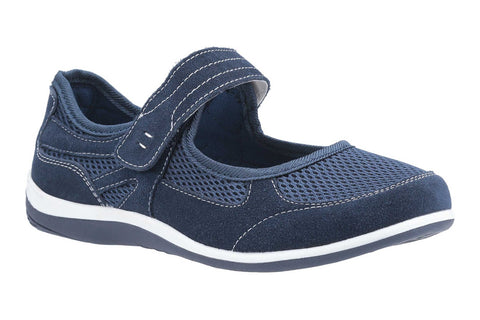 Fleet & Foster Morgan Womens Touch Fastening Mary Jane Casual Shoe