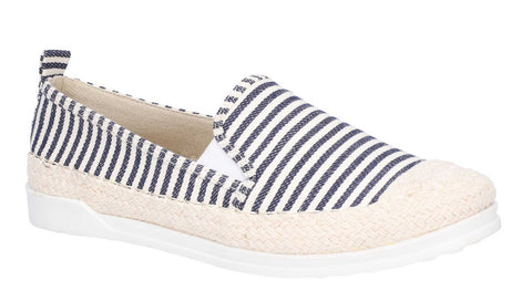 Fleet & Foster Paradise Nautical Espadrille Loafer Navy