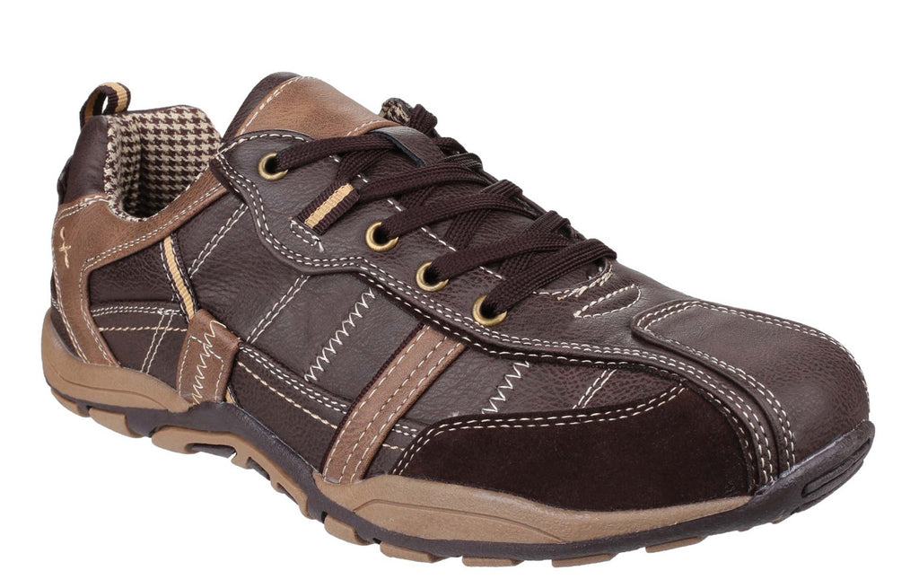 cf277bff4f27 Fleet & Foster Portsmouth Mens Lace Up Casual Shoe