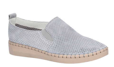 Fleet & Foster Tulip Slip On Shoe Grey