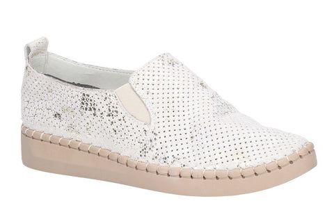 Fleet & Foster Tulip Slip On Shoe Beige