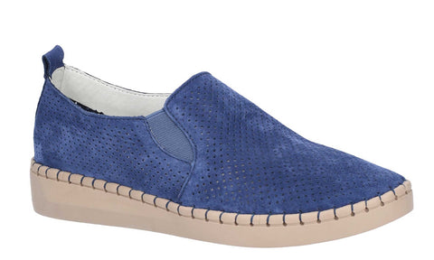 Fleet & Foster Tulip Slip On Shoe Navy