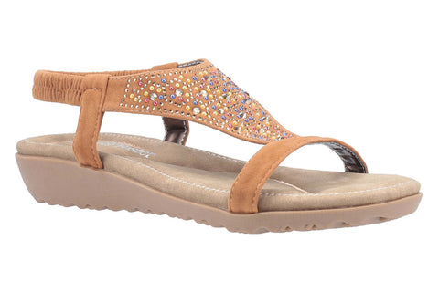 Fleet & Foster Nicosia Womens Slip On Summer Sandal