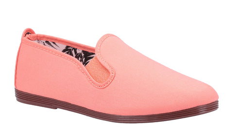 Flossy Arnedo Womens Slip On Canvas Casual Shoe