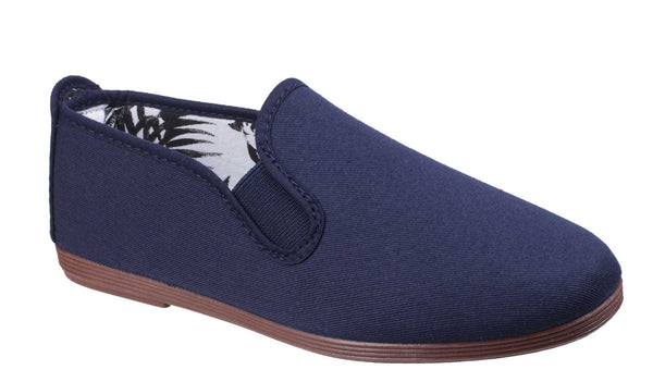 Flossy Arnedo Mens Slip On Canvas Casual Shoe