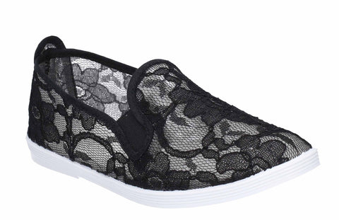 Flossy Bimba Slip On Shoe Black