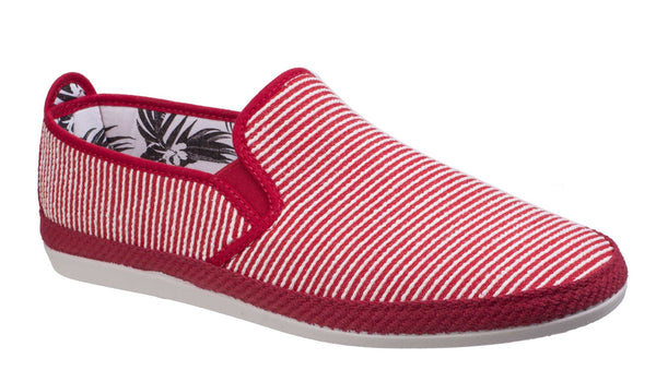 Flossy Brieva Slip On Espadrille Red