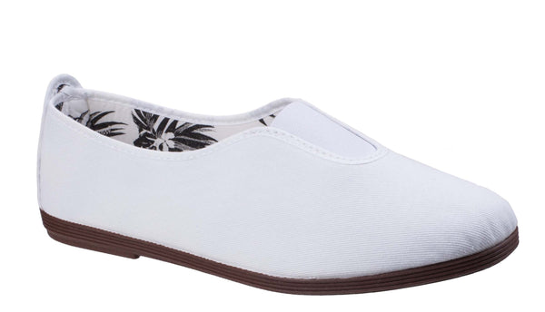 Flossy Califa Canvas Shoe White