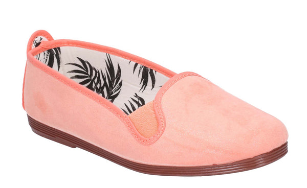 Flossy Dosier Slip On Shoe Coral