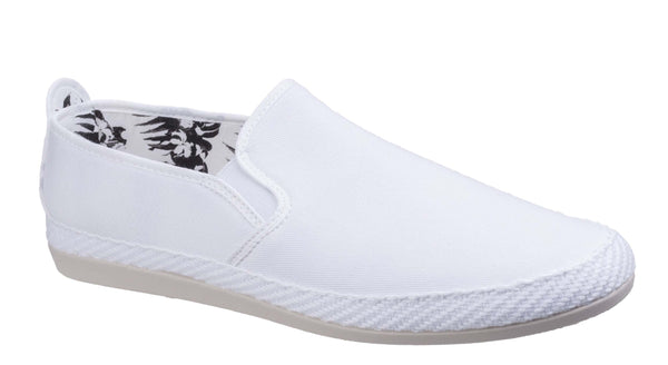 Flossy Orla Slip On Espadrille White