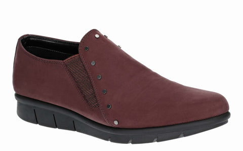 The Flexx Ayrton Womens Nubuck Leather Slip On Casual Shoe