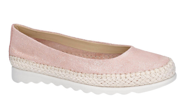 The Flexx Chamomil Womens Espadrille Style Slip On Casual Pump