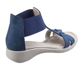 The Flexx Con Band Womens Slip On Summer Sandal
