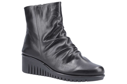 The Flexx Eclipse Samun Womens Wedged Ankle Boot