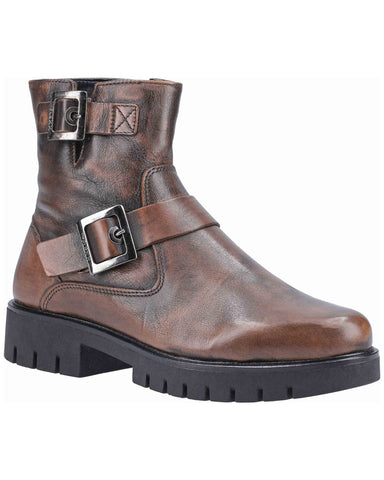 The Flexx High Line Womens Biker Ankle Boot
