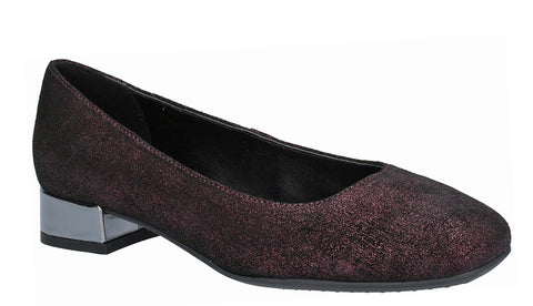 The Flexx Longly Womens Leather Slip On Court Shoe