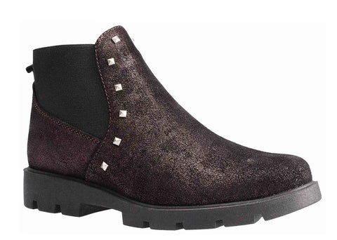 The Flexx Lulu Ankle Boot Bordo