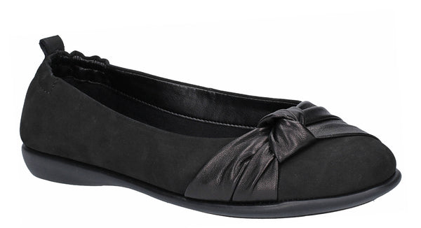 The Flexx Miss Knot Slip On Shoe Black