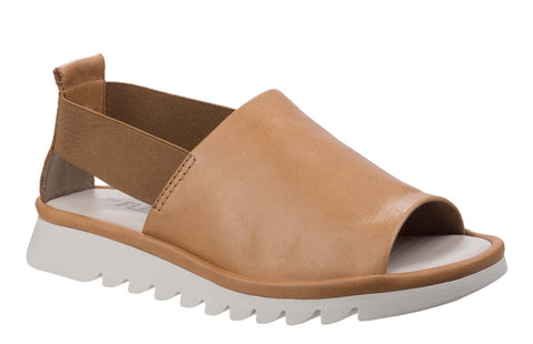 The Flexx Wat Is Wav Womens Slip On Sandal Cognac