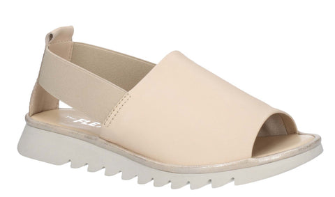 The Flexx Wat Is Wav Womens Leather Slip On Sandal