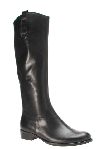 Gabor Brook M Womens Classic Riding Style Long Dress Boot 71.649 27 Black
