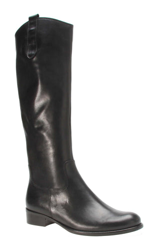 Gabor Brook S Womens Slim Leg Classic Riding Style Long Boot 71.648 27 Black