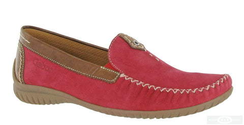 Gabor California Womens Wide Fit Slip On Moccasin 46.090