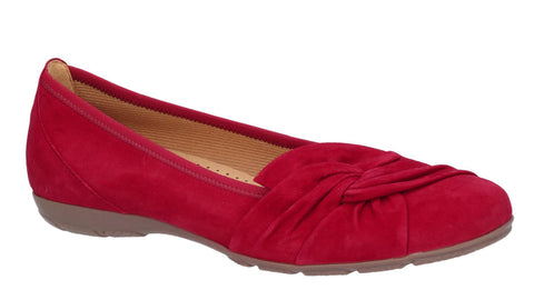 Gabor Claredon Womens Suede Slip On Ballerina Pump 24.150
