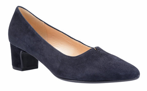 Gabor Eileen Womens Block Heeled Suede Court Shoe 31.440