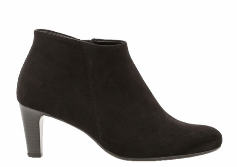 Gabor Fatale Womens Plain Fronted Mirco Velour Ankle Boot 35.850
