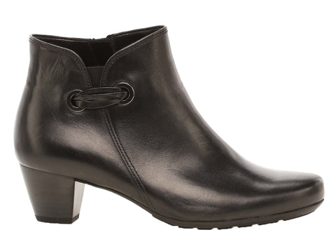 Gabor Keegan Womens Wide Fit Leather Ankle Boot 32.827
