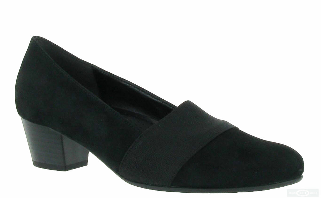 55155b5ee0b7 Gabor Sovereign Womens Wide Fit Suede Leather Dress Court Shoe 92.052