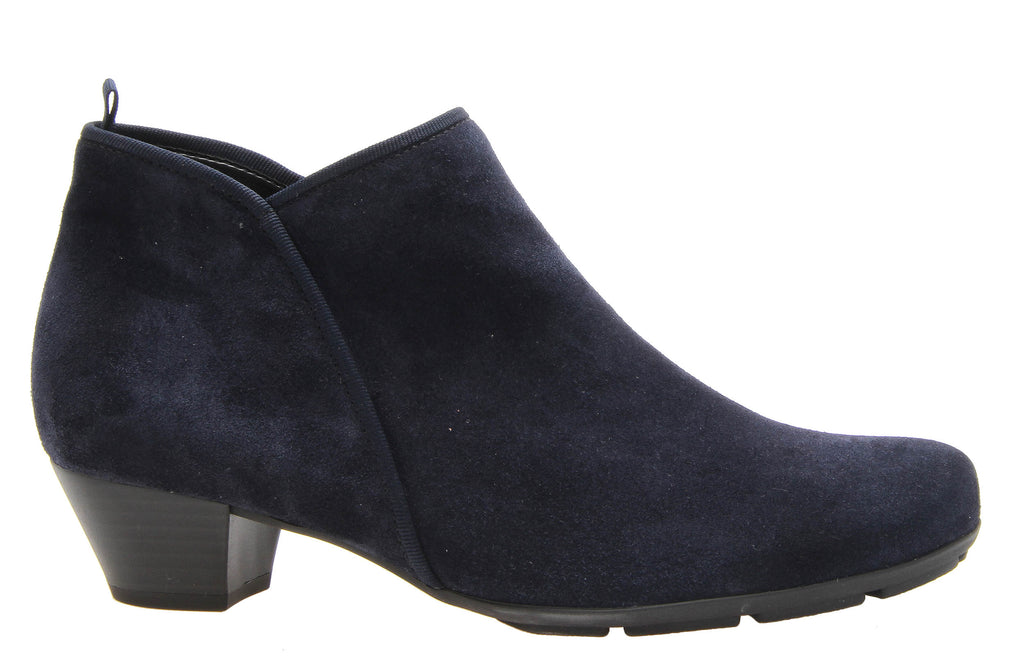 b89fbf84da0052 Gabor Trudy Womens Suede Leather Plain Fronted Zip Ankle Boot 35.633