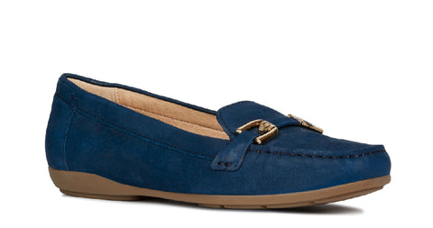 Geox D Annytah Moc A Slip On Shoe Blue
