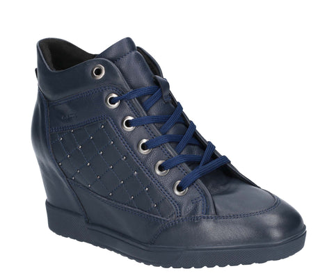 Geox Carum Trainer Navy