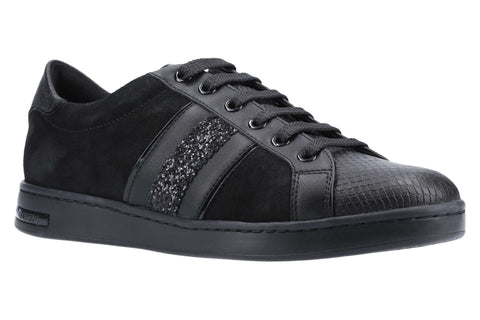 Geox D Jaysen D Womens Leather Lace Up Trainer