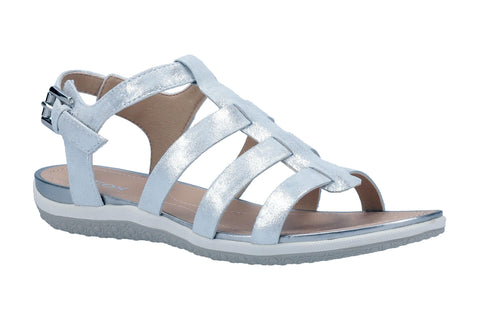 Geox D Vega A Sandal Womens Leather Summer Sandal