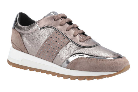 Geox D Tabelya A Womens Lace Up Trainer