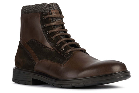 Geox U Alberick A Mens Lace Up Boot