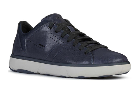 Geox U Nebula Y Mens Lace Up Trainer
