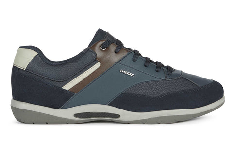 Geox U Volere A Mens Lace Up Trainer