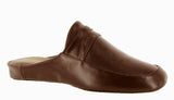 Cincasa Aramis Mens Leather Mule Slipper Wine