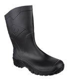Dunlop Dee K500011 Mens Mid Calf Wellington Black