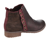 Divaz Demi Womens Pull On Casual Boot
