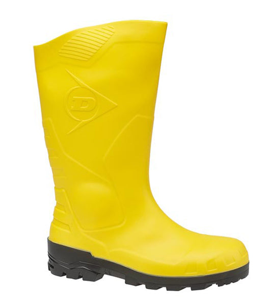 Dunlop Devon H142611 Womens Safety Wellington Yellow