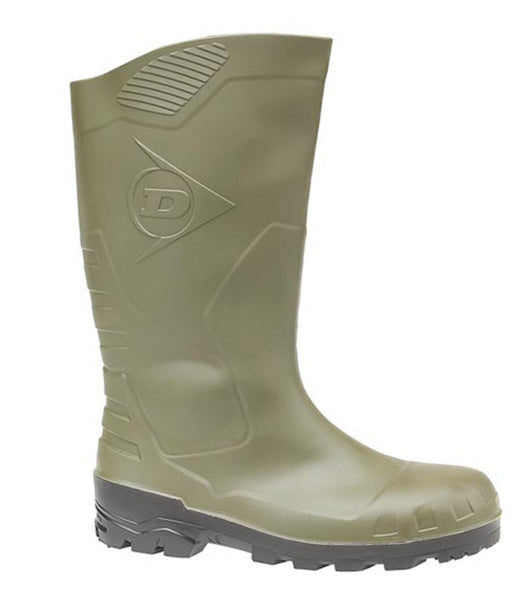 Dunlop Devon H142211 Mens Safety Wellington Green