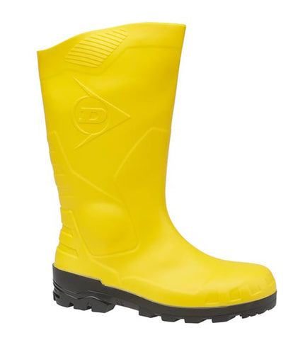 Dunlop Devon H142611 Mens Safety Wellington Yellow
