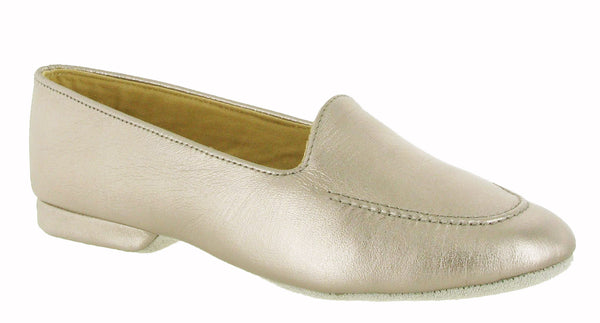 Cincasa Fornells Womens Full Leather Slipper Pewter