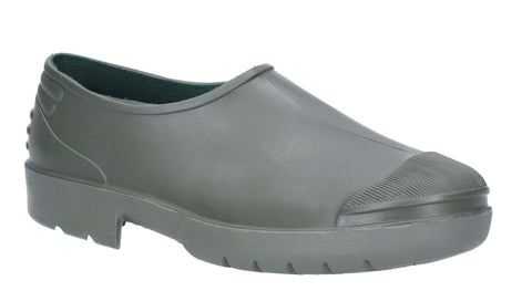 Primera Womens PVC Slip On Gardening Shoe Green