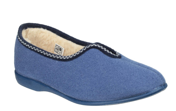 GBS Helsinki Womens Full Slipper Blueberry